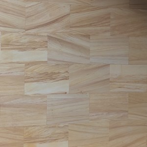 Sawn sandstone tiles for walling and flooring