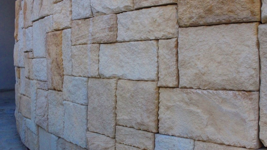 Landscaping stone colonial wall cladding