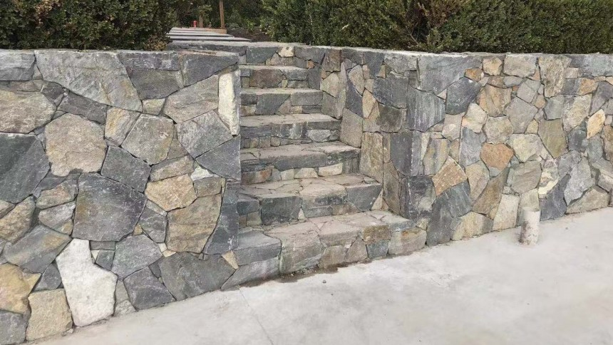 Landscaping stone - Eyre irregular walling
