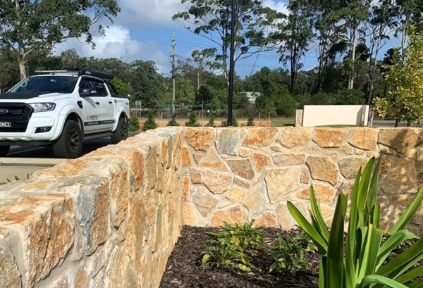 Aussietecture Laverton irregular Limestone wall Cladding