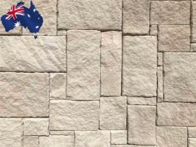 Colonial white Australian sandstone wall cladding
