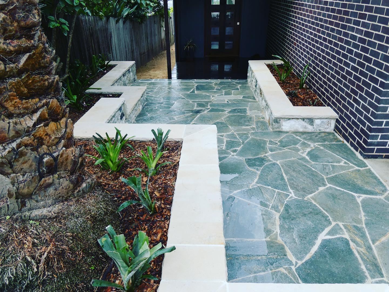 Kimba slate stone Crazy paving