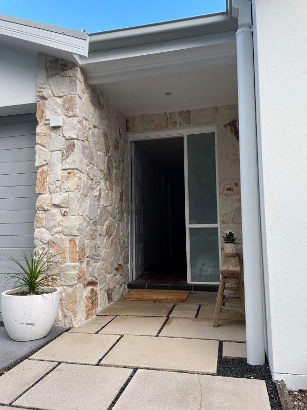 Burnie irregular wall cladding for exterior walls