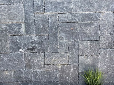 Weipa colonial limestone walling