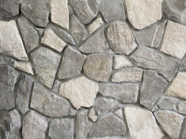 Bligh irrgular mixed grey and white stone cladding