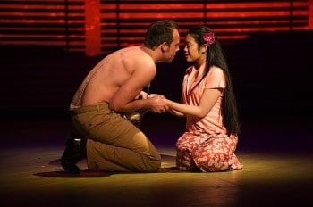 Daniel Koek and Celina Yuen in South Pacific. Image by Kurt Sneddon