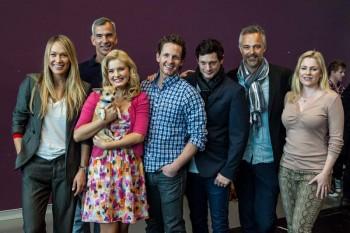 Erika Heynatz, Jerry Mitchell, Lucy Durack (and Bruiser), David Harris, Rob Mills, Cameron Daddo and Helen Dallimore