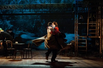 Michelle Nightingale and Jim Sturgeon in Brief Encounter. Image supplied