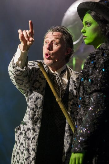 Wayne Scott Kermond and Ashleigh O'Brien in Wicked. Grant Leslie Photography