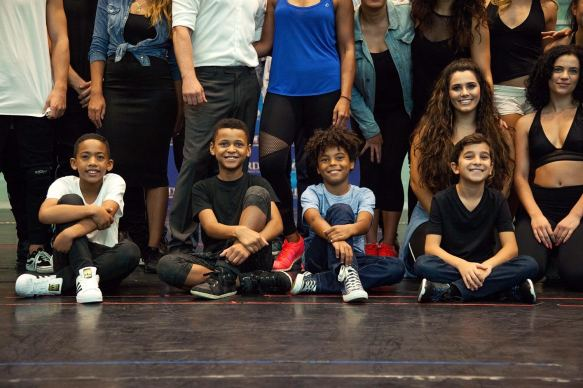 The cast of The Bodyguard