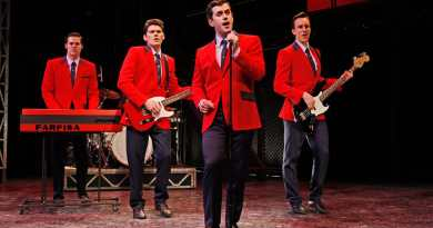 The original Australian cast of Jersey Boys | Photo by Jeff Busby