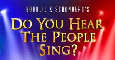 DO YOU HEAR THE PEOPLE SING – Postponed