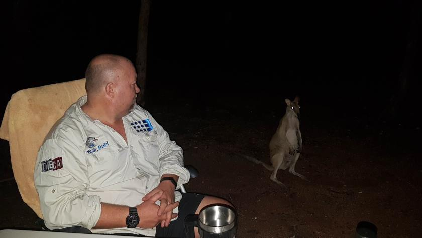 Steve and the wallaby