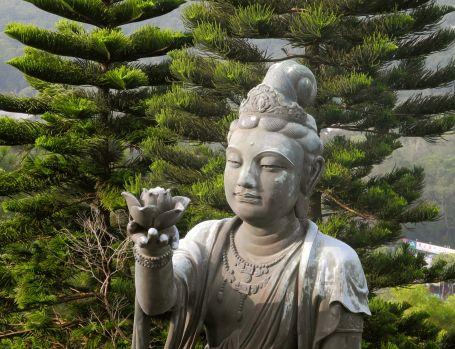 Am Big Buddha, Lantau