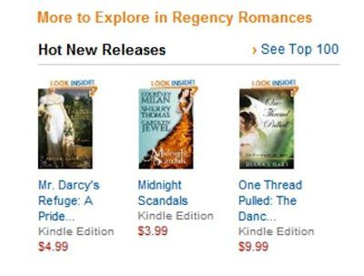 #3 in Regency Hot New Releases