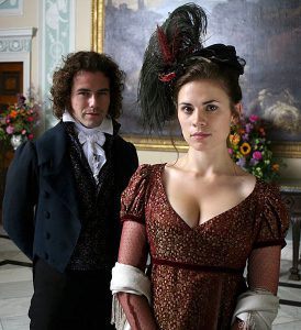 Costumes for Regency Bad Girls in Jane Austen Movies http://www.frockflicks.com Mansfield Park (2007), Mary Crawford (Hayley Atwell)