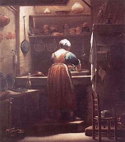 Giuseppe Crespi - %22The Scullery Maid%22 (c.1710-1715)