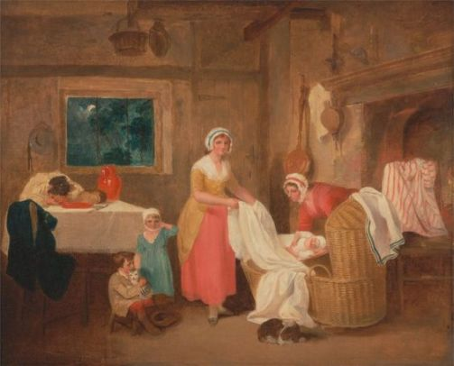 Night, Francis Wheatley, 1799