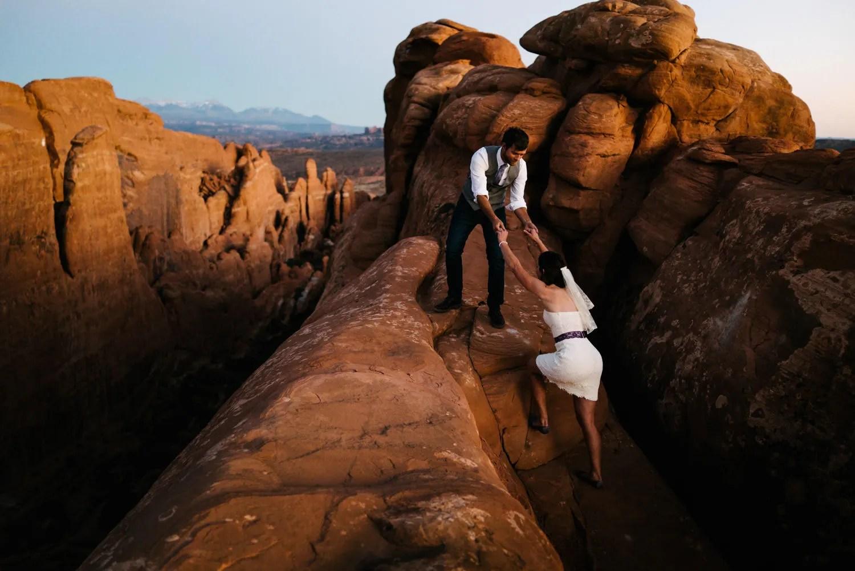 Arches National Park Wedding Guide  Austen Diamond Photography