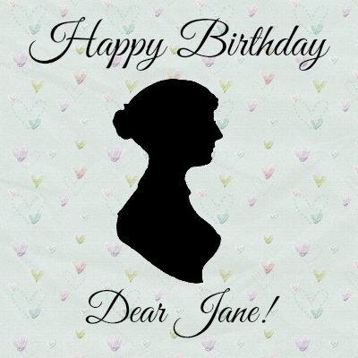 Happy 238th Birthday Jane Austen + Double Giveaway