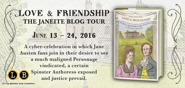 Love Friendship Blog Tour graphic banner