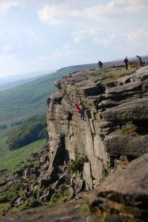 Stanage Edge; Derbyshire. Autor: Oscar Cortés.