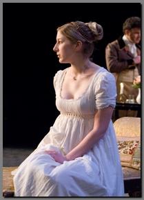 Image of Chiara Motley as Anne Elliot, Persuasion, Book-It Theatre,(2008)