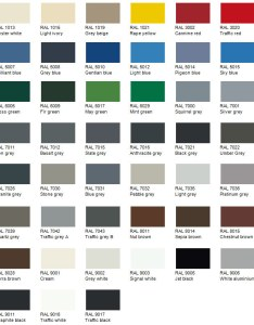 Ral color chart also austensteels rh
