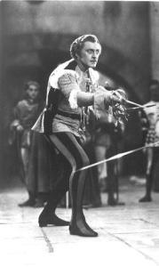 John Barrymore as Mercutio - jpg