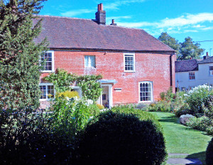 Chawton from garden cropped