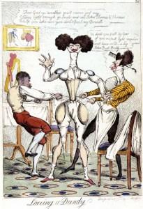 Auvar Sir Walter neckcloth cartoon