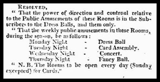 Amusements at the Upper Rooms, from Guide to Watering Places