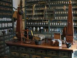 Traditional apothecary shop
