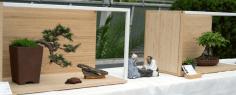Präsentation in einer (Mini-)Tokonoma