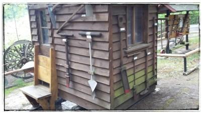Holzarbeiterhütte