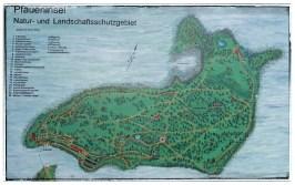 Pfaueninsel Karte