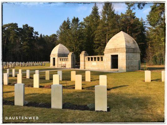 Englischen Soldatenfriedhof - Eingang