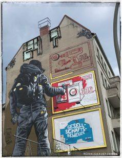 Berlin Mural Festival - Wahrschauer Straße 58