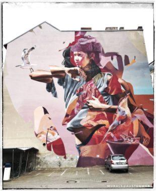 Berlin Mural Festival - Bernburgerstraße
