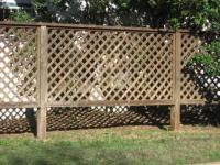 Custom Fences  Austex Fence and Deck