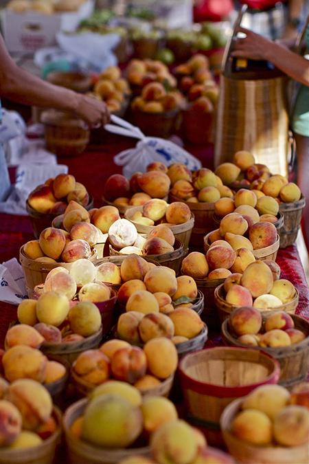 texas peaches fredericksburg hill country