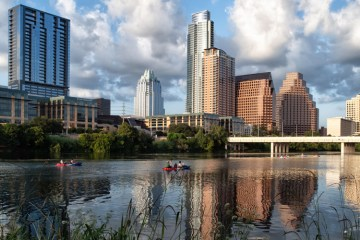 Lady Bird Lake. Photo: Flickr user Anne Worner, creative commons licensed