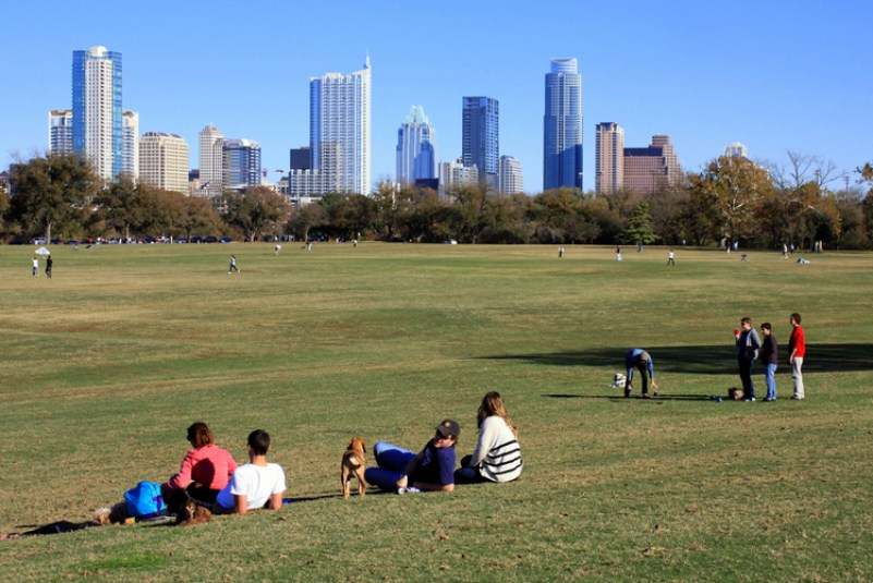 zilker park metropolitan lady bird lake auditorium shores great lawn dog spring