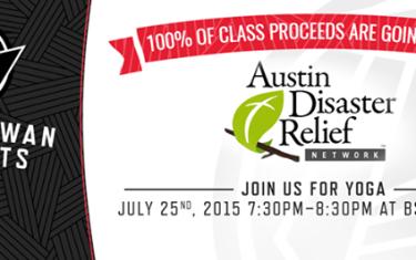 Black Swan Benefits Austin Disaster Relief