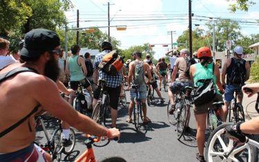 Bike Austin Moonlight Serenade Social FAREWELL TO THE BATS