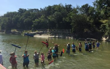 Hell Yes Projects: Barton Springs Pool Clean Up with FBSP