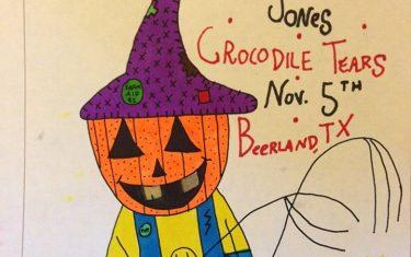 CROCODILE TEARS, AUSTIN LEONARD JONES, TBA 11.5.15 @ BEERLAND