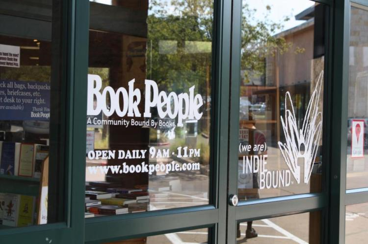 Photo: Courtesy, BookPeople on Facebook.