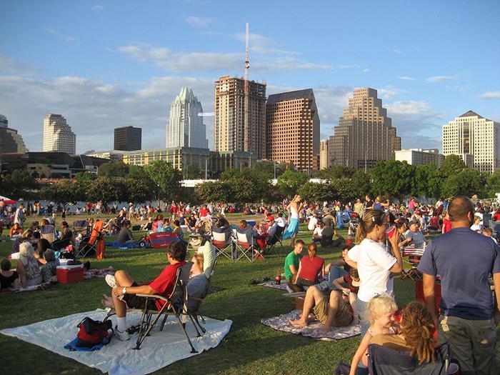 SXSW ACL music festival outdoor zilker park auditorium shores