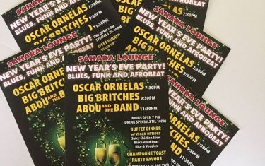 SAHARA NEW YEAR'S EVE PARTY  … FUNK, BLUES AND AFRO-BEAT